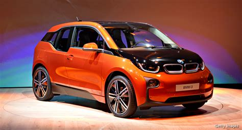 Bmw I3 Electric Car Unveiled; Loaner Suv Tackles Longer Drives