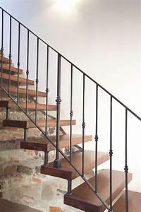 Escalier Fer Et Bois : escalier en bois moderne tous les mod les en 55 photos ~ Dailycaller-alerts.com Idées de Décoration