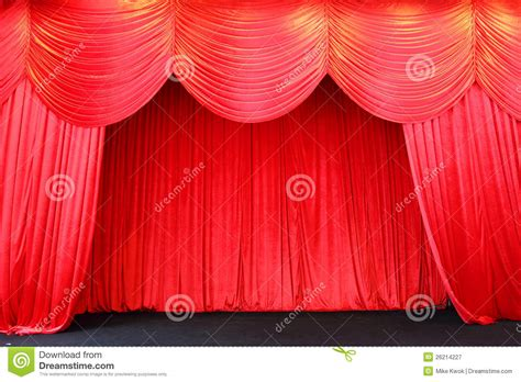 stage curtains royalty free stock photography image