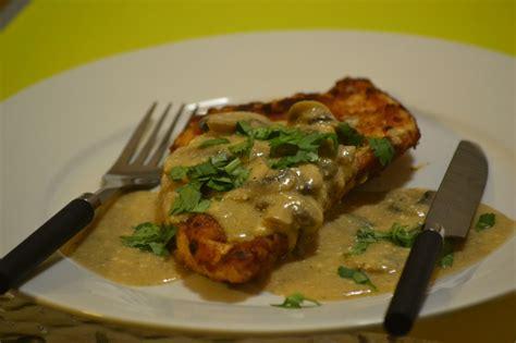 Chicken Schnitzel With Mushroom