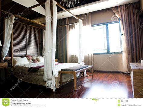 oriental style bedroom royalty  stock images image