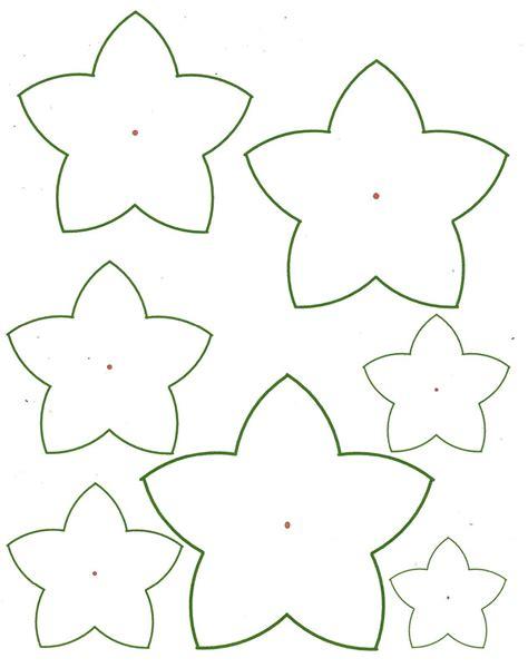 paper flower template printable   construction