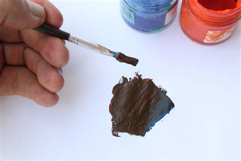 what two colors make brown 6 ways to make brown from primary colors wikihow