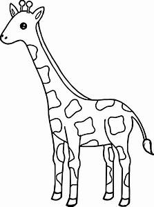 Coloring Pages Of Giraffes Murderthestout