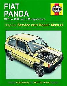 Fiat Panda 1981 1995 Haynes Service Repair Manual
