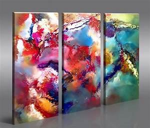 Abstrakte Bilder Leinwand : cornwall 3 bilder bild abstrakte kunst auf leinwand wandbild poster ebay ~ Sanjose-hotels-ca.com Haus und Dekorationen