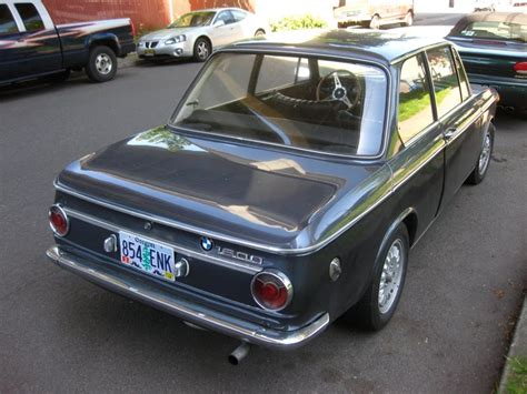 Old Parked Cars 1968 Bmw 1600