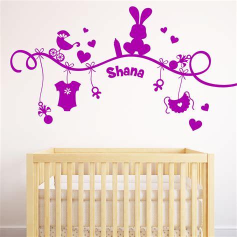 stickers chambre bébé personnalisé stickers muraux prenom personnalise 28 images sticker