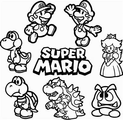 Mario Yoshi Kleurplaat Coloring Arriola Amanda Bross