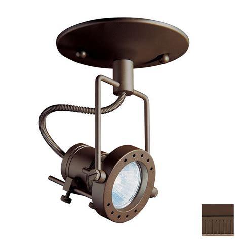 flush mount track lighting shop kendal lighting oil rubbed bronze flush mount fixed