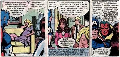 Ms Marvel Pregnancy Carol Danvers Avengers Deal
