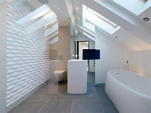 Carrelage Salle De Bain Blanc : carrelage 10 inspirations originales pour ma salle de bains ~ Melissatoandfro.com Idées de Décoration