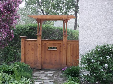 side yard gate ideas side yard gate traditional landscape chicago by van cleave architecture design