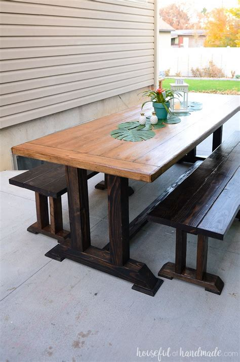 Outdoor Dining Table Plans  A Houseful Of Handmade. Home Office Executive Desk. Little Tikes Desk And Chair. Metal Work Tables. Twin Over Full With Desk. Outdoor Refrigerator Drawers. Computer Desk Led Lights. Electric Adjustable Height Desk. Costco Tv Table