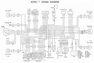 Yamaha Xt350 Wiring Diagram Schematic