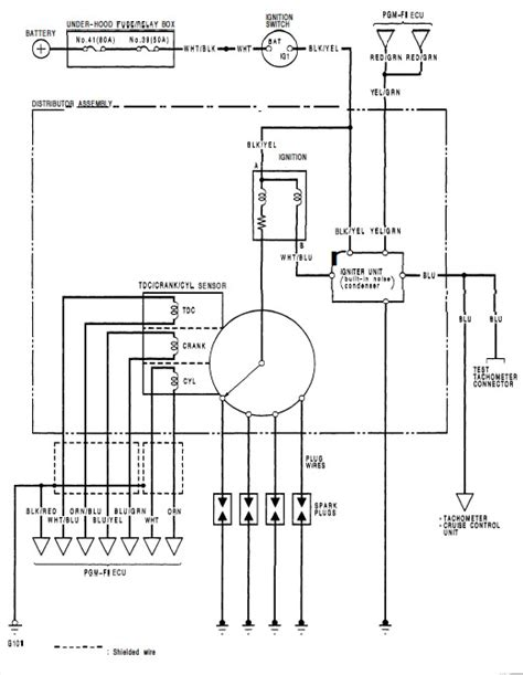 Honda Accord Ignition Coil Wiring Diagram