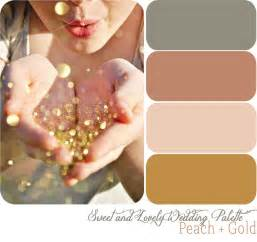 wedding color scheme wedding color palette gold sweet and lovely