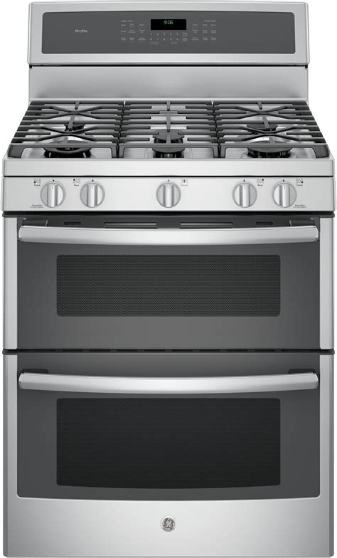 ge pgbzejss   freestanding double oven gas range