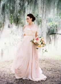 blush bridesmaid dresses an alternative to ivory 10 inspiring blush wedding dresses for 2013 onefabday
