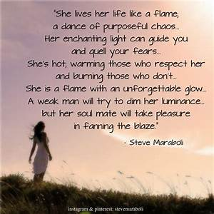 """She lives... Burning Soul Quotes"