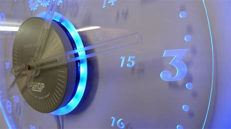 led light wall clock lighting and ceiling fans