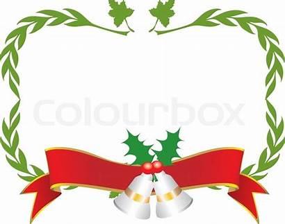 Label Clipart Christmas Address Border Labels Rammer