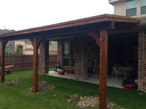 custom patio cover in mckinney hundt patio covers