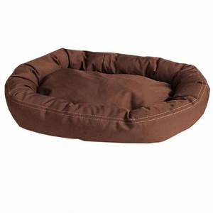 carolina pet company brutus tuff comfy cup large chocolate With no rip dog bed