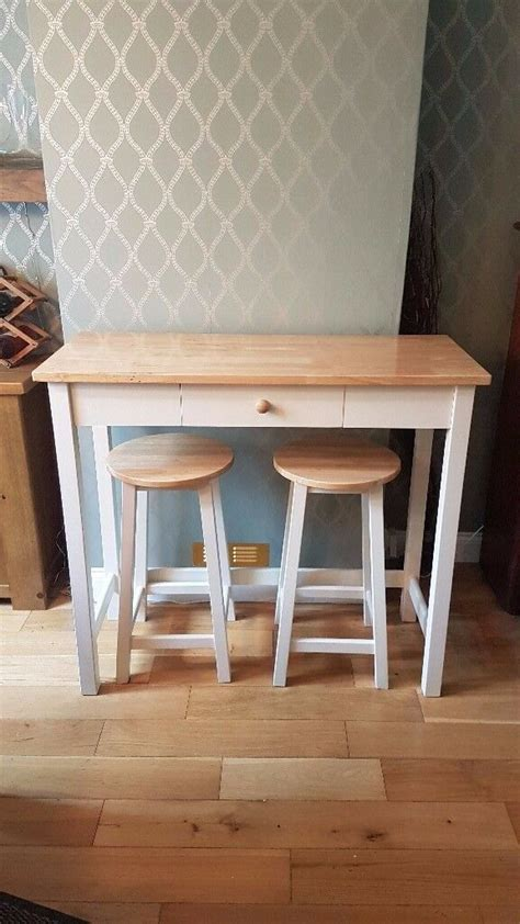 john lewis adler bar table stools cream  letchworth garden city hertfordshire gumtree