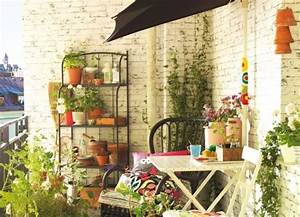 balcon esprit recup deco balcons pinterest vintage With idees amenagement jardin exterieur 3 20 jolis petits balcons joli place