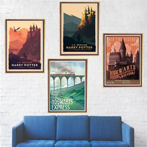 Harry Potter Poster Hogwarts Express Diagon Alley