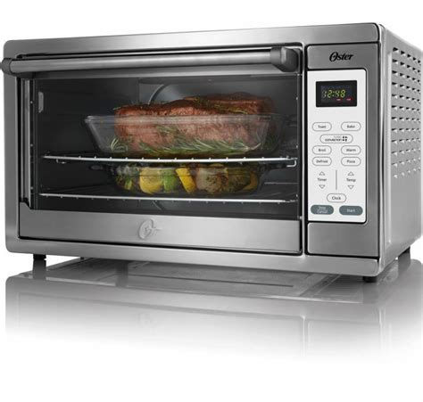 oven convection countertop toaster ovens oster walmart extra pizza digital counter kitchen microwave stove cooker compact rotisserie rack cookware toasters