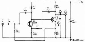Low Impedance Microphone Preamp