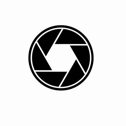 Camera Shutter Clipart Lens Transparent Clip Emoji