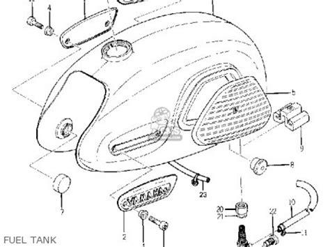 yamaha yg1 trailmaster 80 1964 usa parts list partsmanual partsfiche