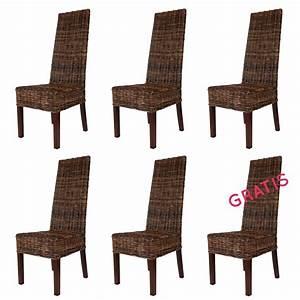 Esszimmerstühle 6er Set Günstig : rattanst hle im set stuhlgruppe rattan esszimmerst hle im angebot ~ Indierocktalk.com Haus und Dekorationen
