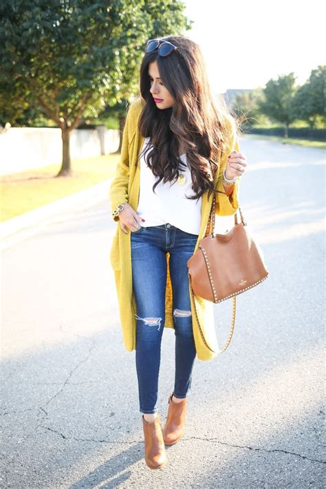 Best 25+ Mustard cardigan outfit ideas on Pinterest | Mustard cardigan Mustard yellow cardigan ...