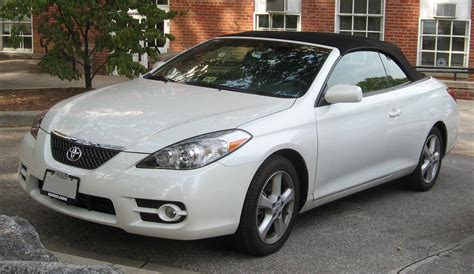 toyota solara toyota solara convertible picture 10 reviews news