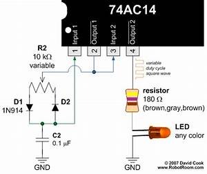 pwm pulse width modulation for dc motor speed and led With pwm control circuit