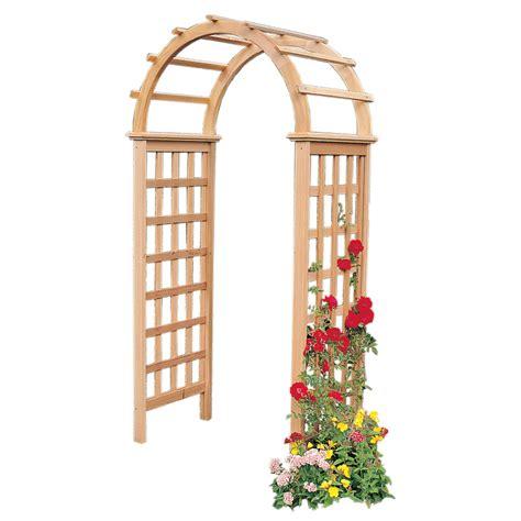 Shop Garden Trellis by Garden Architecture 3 4 Ft W X 7 3 Ft H Garden