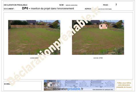 abri de jardin declaration de travaux declaration prealable de travaux abri jardin projet environnement dp6