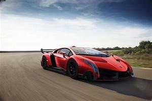 Lamborghini Veneno Red Wallpaper Background | I HD Images