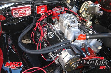 product spotlight msd atomic efi fuel injection system