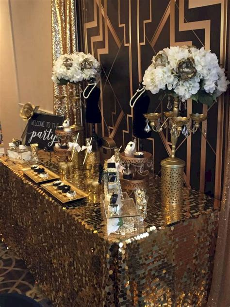 awesome decorations great gatsby party ideas gatsby