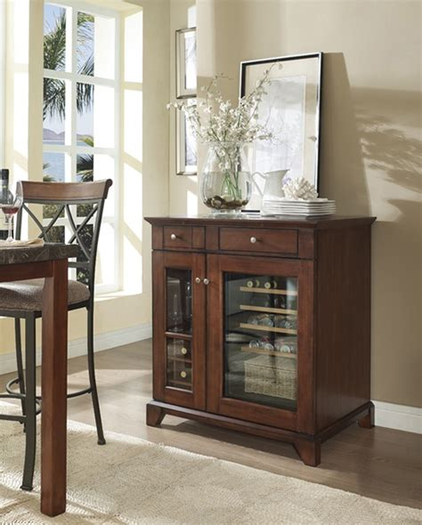refrigerated wine cabinet furniture woodworking projects