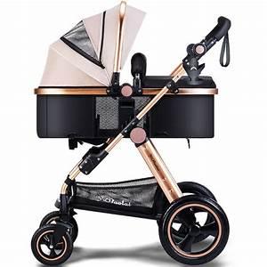 Kinderwagen 2 Kinder : kinderwagen 2 in 1 landschaft faltbare aluminium kinder kind kinderwagen push auto poussette ~ Watch28wear.com Haus und Dekorationen