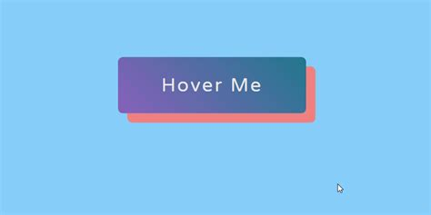 animated gradient button hover effect