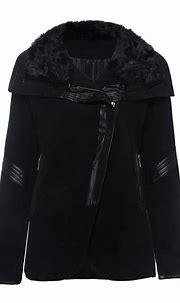 Ericdress Slim Zipper Mid-Length Overcoat | Rocker outfit ...