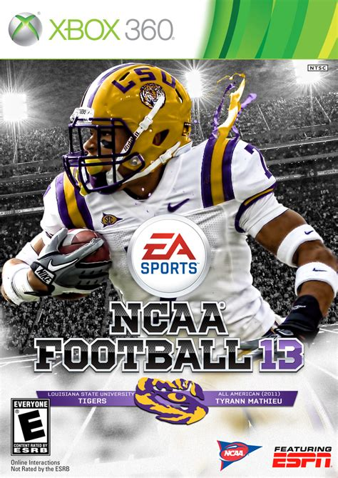 lsu ncaa  covers honey badger galore   valley