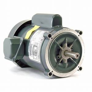 General Electric C349 Thermally Protected  U00bd Hp Ac Motor 5kc36ln166x